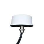 (08-ANT-0937-3X-RPSMA-RA) <br>MP Antenna MIMO Three Feed 15 LMR200 Pigtail 4.9GHz - 6GHz White