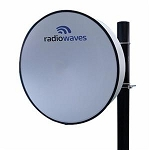 (HP3-6RS) Radiowaves<br>High Performance, 3'  Parabolic, 5.725 - 7.125 GHz, CPR-137, Single Polarized Antenna