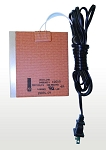 (HT-100) 100 Watt Flex Heater Strip 110 Volts w/ Thermostat ON 40 OFF 60+-8 0.8 amp draw 5