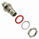 (ACX2020-ND)  Amphenol RF Nickel Brass Straight Barrel Adapter, TNC Female to TNC Female, 11 GHz
