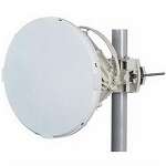 (EH-ANT-1ft-A/B)   EtherHaul 1 ft. antenna (FCC/ETSI), with ring adaptor