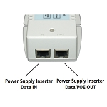 (POE-55IG-ATI)  Gigabit High Power PoE 802.3at Power Injector with Power Cord