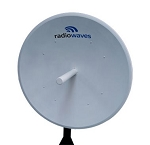 (SP4-2/5NS) Radiowaves<br>4ft  Standard Performance Antenna2.4-2.5 & 5.725-5.85 GHz - Dual Band N-Female Interface