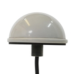 (DM2-2400/5500-3C-WHT-12) Mobile Mark<br>Low Profile Dome Antenna 2 dBi antenna with 1 foot RF-195 pigtail SMA-male (2.4-2.5/4.9-6 GHz)